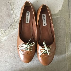 💚Price Drop!💚 Steve Madden Oxford-Style Flats